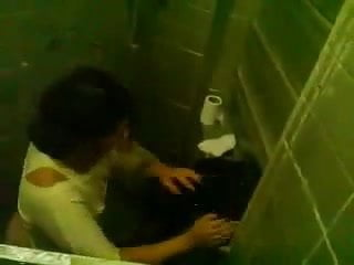 Female Motor Coach Entangled Screwing A Partisan In A Toilet